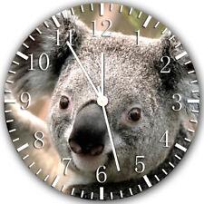 Ours Koala Frameless sans Bords Horloge Murale Nice pour Cadeaux ou Décor Z117