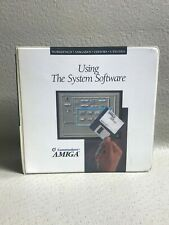 Commodore Amiga Using The System Software   #3659