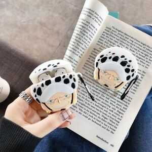 One Piece Trafalgar Law Protective Case Cover Ope noMi For Airpods Gen 1 2 & Pro