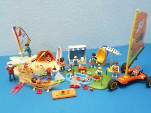 Strand Fun Set Strandkorb Surfer Windracer Figuren 4216 MEGA Playmobil 1365