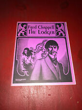 Fred Chappell The Lodger Necronomicon Press 1993
