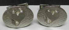 1969 67 68 70 HEART CUFFLINKS GTX PLYMOUTH ROADRUNNER CUDA MOPAR DEALER PROMO