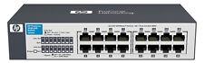 HP 1410-16G 16 Port 10/100/1000 UNMANAGED GbE SWITCH J9560A 10 Gigabit Ethernet