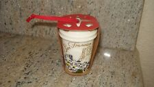 Starbucks San Francisco To Go Mugs Christmas Ornament Gold and white w Red Wrapp