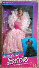 MATTELL DREAM GLOW BARBIE AFRICAN UNPLAYED WITH MIB GREAT CONDITION #2422 1985