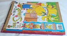 Simpsons Comics: #31, #52, #1, #3. Bongo comics.
