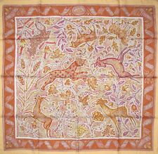 Hermes 2003 Light Orange Mosaics Pavement Twill 90