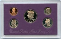1989 United States Proof Set 5 Coin Collection US Mint