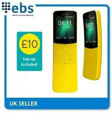 Nokia 8110 4G Mobile Phone on EE - INCLUDING £10 TOP UP