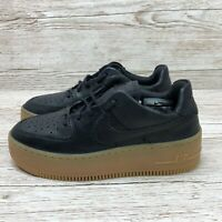 W NIKE AIR FORCE 1 SAGE LOW LX OIL GREY size UK 2.5 US 5 EUR 35.5 AR5409 002 AF1