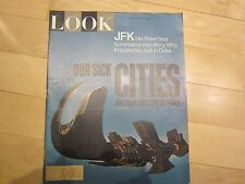 LOOK MAGAZINE, SEPT.21, 1965 OUR SICK CITIES, JFK FINEST HOUR