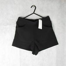 New! Stunning! Mango Black Shorts Size 38EUR - Casual Women Stylish Fashion