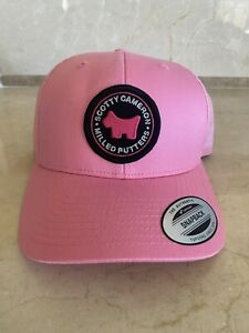 Scotty Caneron Limited Pink Dog Hat, For Tour Only, Circle T