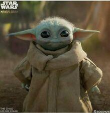 Star Wars Sideshow THE CHILD (Baby Yoda) Life Size Figure IN HAND Mandalorian