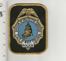 US Police Patch West Virginia State Division Protective Services Police