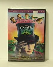 Charlie and the Chocolate Factory (DVD, 2005, Widescreen) NEW AUTHENTIC REGION 1