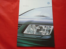 VW Bora Limousine Trendline Comfortline Highline V6 4Motion Prospekt von 2000