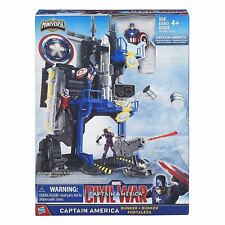 Marvel Captain America Civil War B6739 Bunker Action Playset Toy