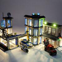 LED Light Kit For LEGO 60141 City Series Police Station Lighting Set