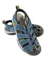 Keen Mens Newport H2 Hydro Sport Sandal Sz 9.5 Blue Yellow Waterproof Shoe