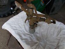 Nelson P85 Brass sprinkler head