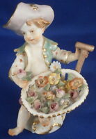 Superb Meissen Porcelain Gardener Figurine Figure Porzellan Figur German Germany