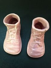 Baby Shoes Shower Gift ! Metlox Left and Right Together Pink