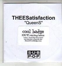 (CX153) TheeSatisfaction, Queens - 2012 DJ CD