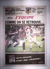 L'EQUIPE 21 AVRIL 2006 MARSEILLE OM - PARIS PSG FINALE COUPE DE FRANCE