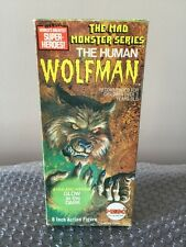 """1973 Mego Mad Monsters 8"""" Type 1 Action Figure ~Wolfman ~100% Original,Complete"""