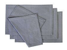 Cotton Placemats Cool Grey 4/pack
