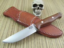 Bark River Knives Bravo Gunny Knife A2 Steel Tan Canvas Micarta LNIB Leather