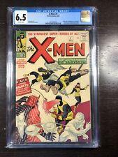 X-Men #1 CGC 6.5 OWW (Marvel 9/63) 1st X-Men! 1st Magento! Silver Age Grail