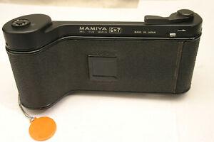 Mamiya 6X7 Roll film back. Mamiya Press fit