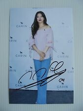 Suzy Bae Miss A 4x6 Photo Korean Actress KPOP autograph hand signed USA Seller F