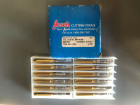 Jarvis Cutting Tools M20 X 2.5 D7 4FL B VHP RH J80 TAPS 6 PC LOT
