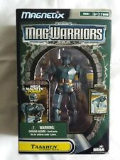 Vintage Mega Brands Mag Warriors Taakhen Figure with Fusion Turret 09081