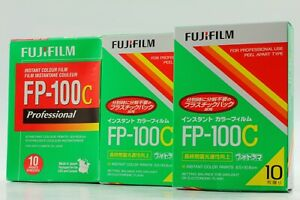 """""""BRAND NEW"""" FujiFilm FP-100C Pro 3 Pack Instant Color Film From JAPAN #1560"""