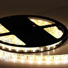 5M 5050 SMD 300LED Light Strip Waterproof Car border Contour Flexible Warm White