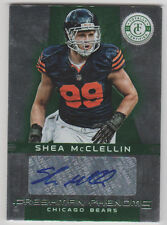 SHEA McCLELLIN Patriots 2012 Totally Certified EMERALD AUTOGRAPH SP RC AUTO #/5
