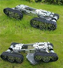 CNC Metal Robot ATV Track Tank Chassis Suspension Obstacle Crossing Crawler SALE