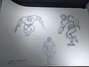 Hulk Versus Wolverine Marvel Animation Concept Art Frank Paur Comic book movie