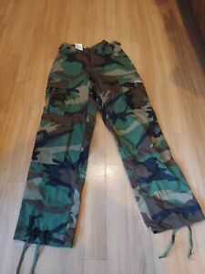 Propper Authentic Military BDU Pants X-Small Short Camouflage 6775/5869 NWT
