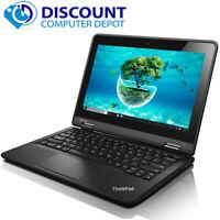 Thinkpad 11E Education Laptop Computer Windows 10 8GB 128GB SSD HDMI Webcam Mic