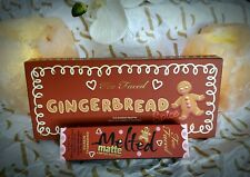 Too Faced 2018 Limited Edition Gingerbread Palette & Gingerbread Girl Lipstick