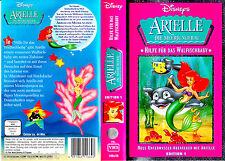 """VHS - """" Disney - ARIELLE Die Sirenetta - Die frechen Gemelli di mare """""""