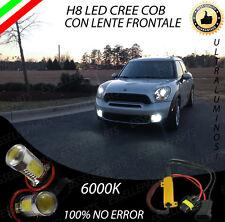 COPPIA LAMPADE FENDINEBBIA H8 LED CREE COB CANBUS MINI COUNTRYMAN R60 NO ERROR