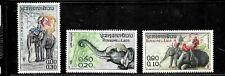 HICK GIRL- BEAUTIFUL MINT LAOS STAMP    SC#41-43  1958  ISSUES     E1031