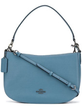 Coach Chelsea Blue 100% Leather Crossbody Handbag Bag - BRAND NEW TAGGED £282