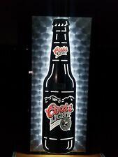 Led Coors Light Beer Bottle Bar Sign Neon Nice